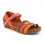 Sandale anatomique Inter Bios 5348 orange multi