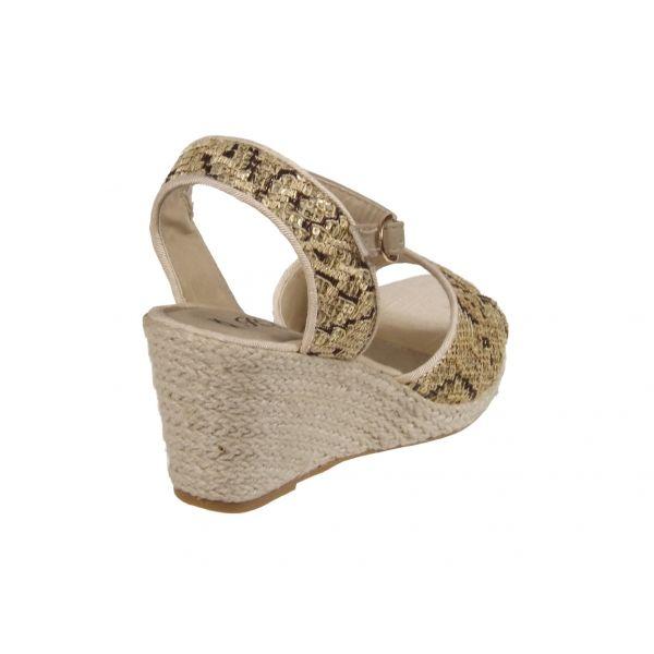vente chaussures espadrille talon compens chaussures femme. Black Bedroom Furniture Sets. Home Design Ideas
