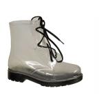 Lolablue Boots de pluie transparent, etanche et mode