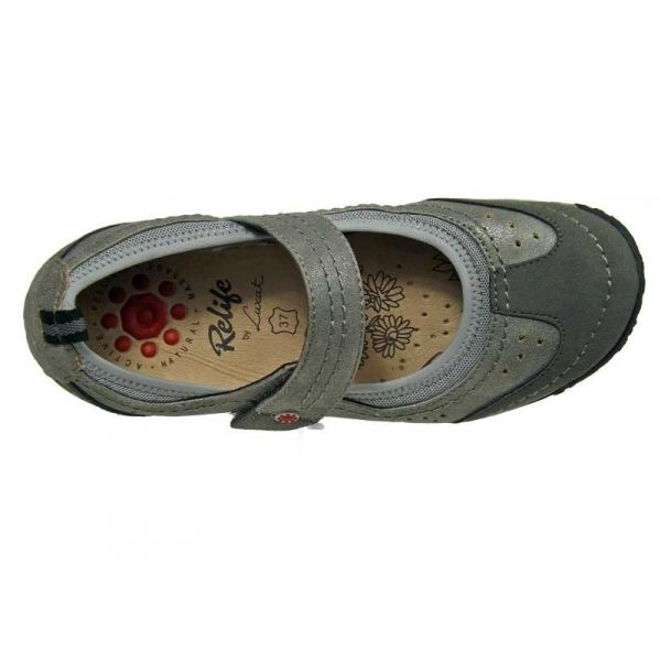 Chaussures Relife grises femme 2AT0V