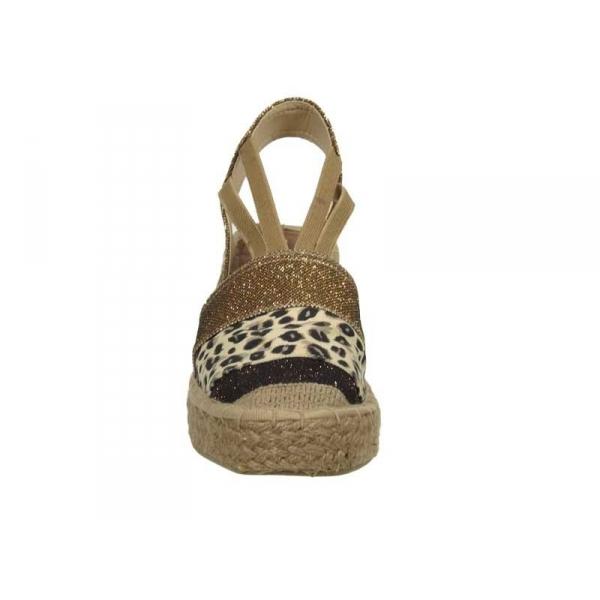abf0c633944 Sandales cordes compensées chaussure sandale compensée