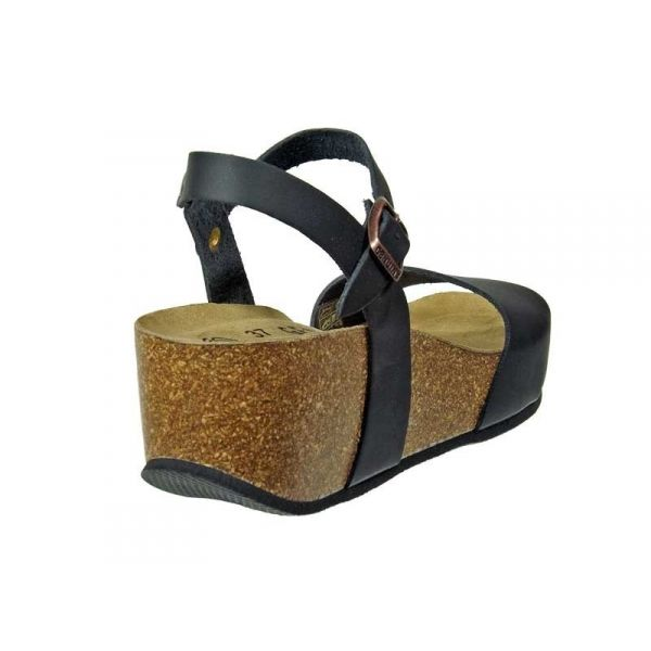 b7b7066ed58a21 Riviéra Cuir Compensées Ventes Chaussures Écologique Genuins Noir HwvTzqR