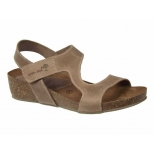Interbios sandale 5316 cuir naturel, semelle anatomique
