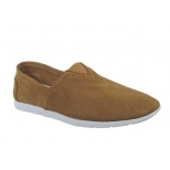 Chaussures Kdopa Beny-espadrille cuir camel