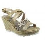 Marco Tozzi sandale compensée cordes or-2 28709 26