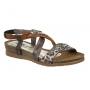 Di Que Si 6022 Africa, sandale anatomique cuir et liège