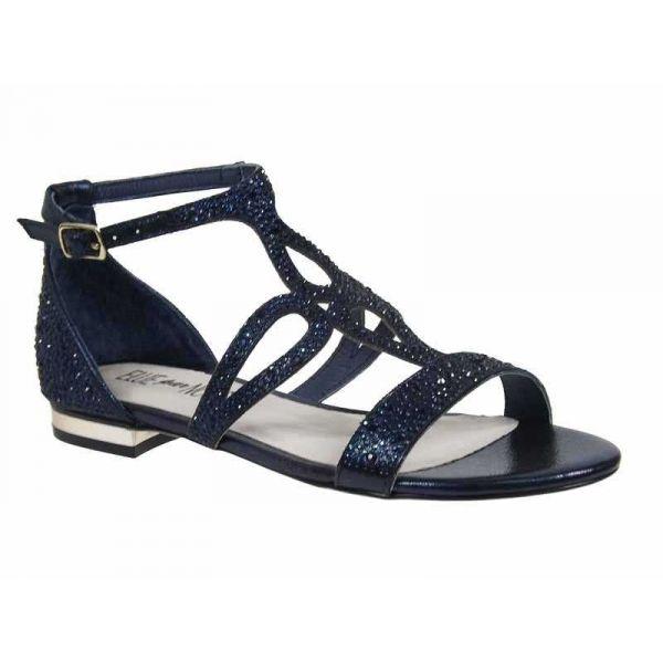 chaussures elue par nous femme zefuse ventes sandales strass bleu. Black Bedroom Furniture Sets. Home Design Ideas
