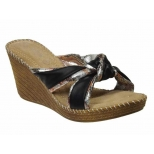 Mule talon confort Playa Frisette Black